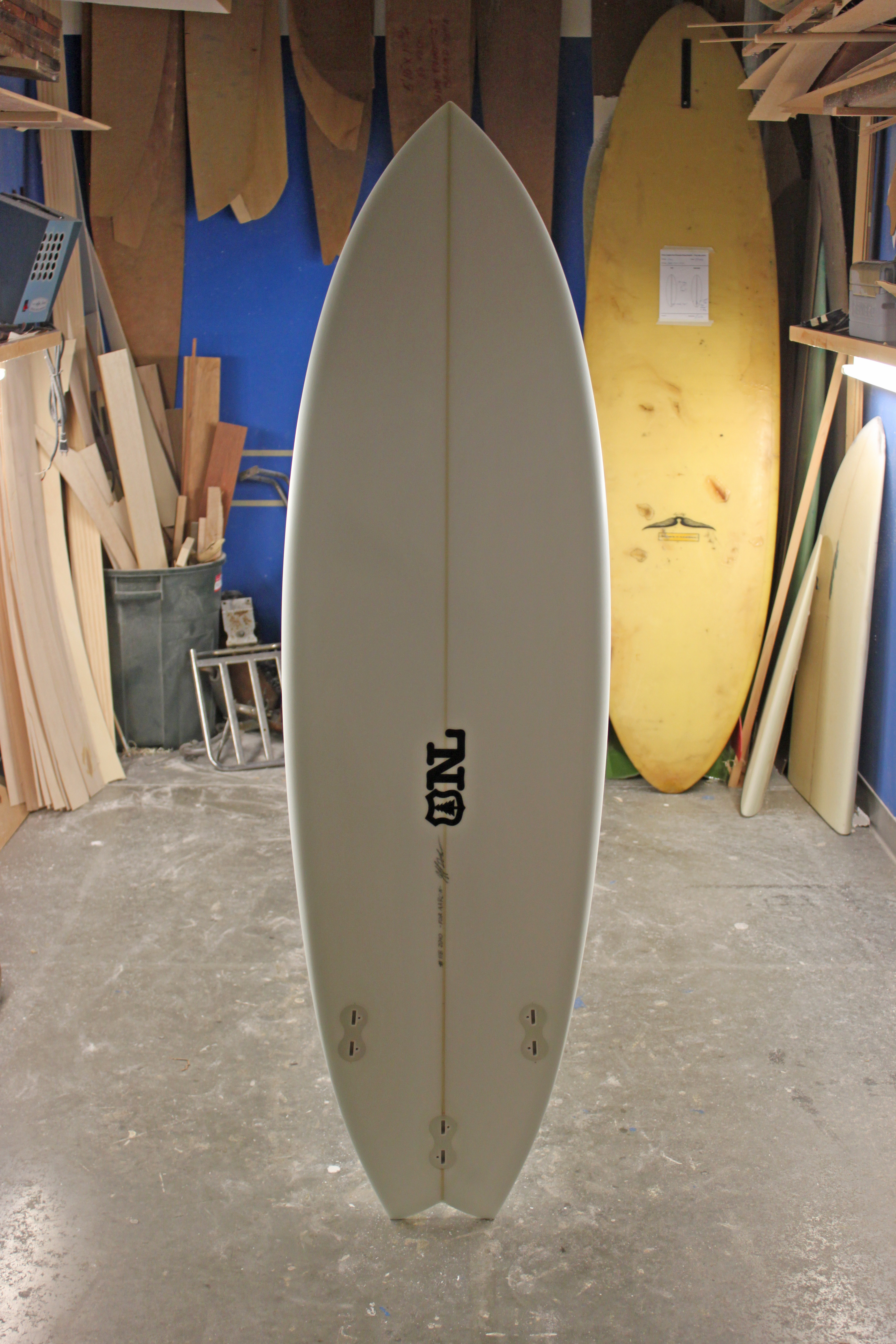 Nine Lights Surfboards Custom Wood Composite Surfboards